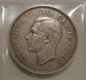 1 Dollar Canada Silver George VI 1948