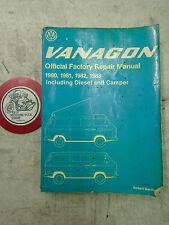 VW Vanagon 1980-83 Official Factory Repair Manual Including Diesels & Campers