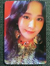 SNSD YURI HOLIDAY Ver Official PHOTOCARD 6th Album Holiday Night 유리