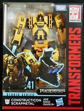 Transformers Studio Series Scrapmetal 41 Constructicon Deluxe Class ROTF New