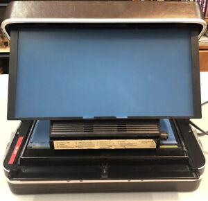 VTG Portable Microfiche Reader Washington Scientific Industry Model 714 Parts