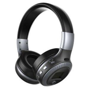 On Ear Kopfhörer Bluetooth 3,5mm USB Kabellos Stereo Kopfhorer Game SD-Karte FM
