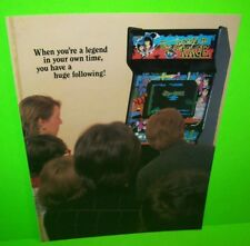 The LEGEND Of KAGE Arcade Game FLYER 1986 Martial Arts Promo Artwork Sheet TAITO