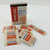 Vintage Johnson & Johnson Band Aid Tin 59cent