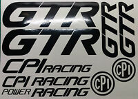 Cpi GTR  Decals/Stickers ALL COLOURS AVAILABLE CPI SCOOTER POWER RACING