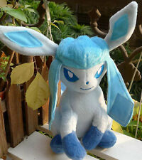 New TOMY POKEMON #471 Glaceon Plush Doll Toy Figure Collectible RARE!!