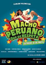 MACHO PERUANO QUE SE RESPETA ORIGINAL SELLADO DVD CINE PERUANO PELICULA PERUANA