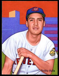 Helmar Original Art This Great Game Bobby AVILA, Cleveland Indians