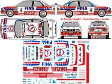 #083 BMW M3 Spa E30 1992 Ravaglia Cecotto Duez Schnitzer Decal 1/43 Minichamps