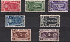 1933 Regno Anno Santo Nuova Linguellata Sassone 345/9 + A54/5 MLH