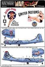 Kits World Decals 1/72 BOEING B-29 SUPERFORTRESS Joltin' Josie & United Notions