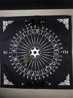 Cotton Crystal Grid Cloth METATRONS CUBE Owl Reiki Healing Pendulum Divination