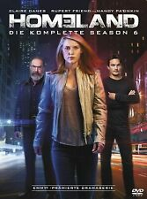 HOMELAND COMPLETE SEASON 6 DVD home land 6th SIXTH SERIES Six Brand New UK R2
