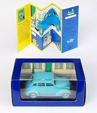 Car Tintin Atlas N°25 Citroen 15/6 Affaire Sunflower Box+Certificate
