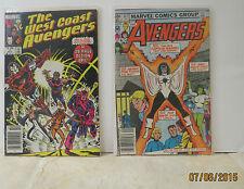 Avengers/West Coast Avengers Lot