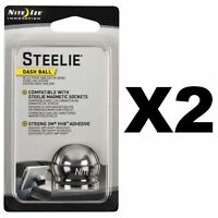 Nite Ize Steelie Dash Ball Component Kit Replacement GPS/Phone Mount Part 2-Pack