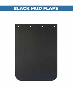 "Plain Black 24"" x 30""  Truck Mud Flaps (pair)"