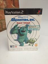 New Sealed  Ps2 Monsters Inc Scare Island Limited Edition Brand New