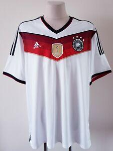 Germany 2014 - 2015 Home football Adidas shirt size 3XL