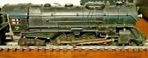 LIONEL 726RR BERKSHIRE LOCO ONLY IN GOOD CONDITION.
