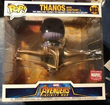 Funko Pop Avengers Infinity War Thanos Sanctuary2 Marvel Collector Corps Excl.