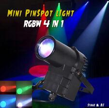 30W RGBW LED Punktstrahler Bühnenbeleuchtung Pinspot Bühnenlicht DMX512 Disco