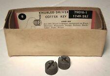 1941Packard160 Super8 & 180 Super8 Knurled Drivers Pair/NOS Trico Part# 79016-1J