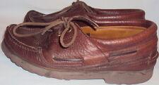 Cabelas, MEN'S BROWN LEATHER, Boat Shoes - Size  7 1/2 D