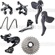 Shimano Ultegra R8000 Groupset 2x11 Mechanical Rim Brakes w/o Crankset New