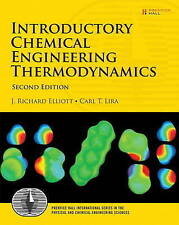 Introductory Chemical Engineering Thermodynamics (2nd Edition) (Prentice Hall In