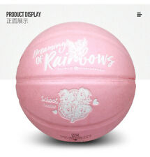 Ltd Ed Hasbro My Little Pony Baby Pink Color Basketball � Suede Leather Size 7