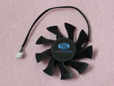 75mm Sapphire XFX HD 5850 6790 6850 Fan Replacement 39mm 4Pin FD8015H12S R88b