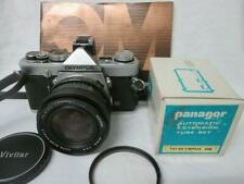 OLYMPUS OM1n MD SLR, Auto Wide Angle 25mm 2.8 Lens, Shoe 4, Instruction Book
