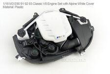 1/18 Kyosho BMW Spare e90 e91 e92 e93 M3 Classic V8 Engine Set with White Cover
