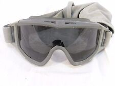 Tactical Military/MOTORCYCLE Goggles Gray with protective Sleeve 110162