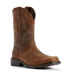 Ariat Men's Status Brown Country Rambler Ultra Boots 10031449
