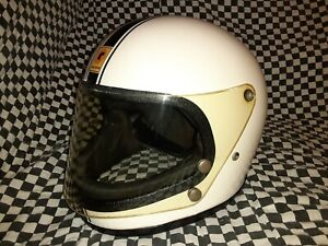 Vintage  lear CaL - am racing helmet  Medium 1970 snell bell Simpson shoei arai