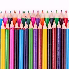 30 x Para colorear Lápiz paquete Escuela Papelería Grande Niños Niños Conjunto de artesanía de arte