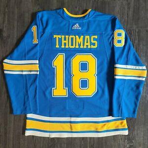 Adidas Robert Thomas St. Louis Blues Alternate Authentic NHL Hockey Jersey