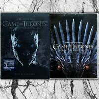 Game of Thrones season 7 & 8 (DVD, Region 1) Fast shipping Priority Mail
