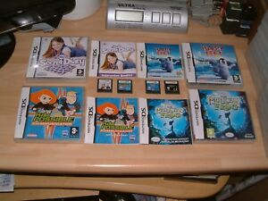 PRINCESS AND THE FROG + HAPPY FEET + KIM POSSIBLE + DIARY.. DS / 2DS / 3DS GAMES