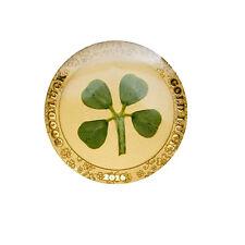 2016 Four-Leaf Clover .9999 Gold $1 Palau Coin Proof