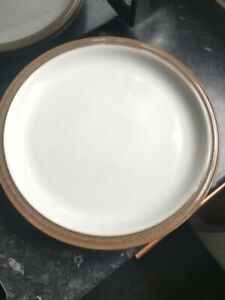 """Denby Greystone x2 dinner plates 10"""" GREAT CONDITION"""