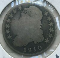 1810 Capped Bust Half Dollar - Silver