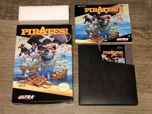 Pirates! Nintendo Nes Complete Near Mint Condition Authentic