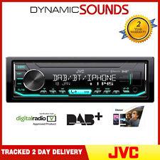 JVC KD-X451DBT Mechless USB/AUX/MP3/Bluetooth DAB Player Radio iPhone Stereo