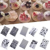 Lace Flower Cake Cookie Fondant Side Baking Wedding Stencil Decorating Tools  QK