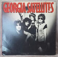 """GEORGIA SATELLITES 1986 12"""" Vinyl 33 LP SOUTHERN ROCK Keep Your Hands/ Yourself"""