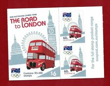 2012 Australia Olympics Booklet SG SB 406