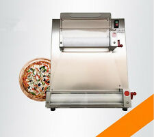 Automatic and electric pizza dough roller machine Pizza making machine 15'' s